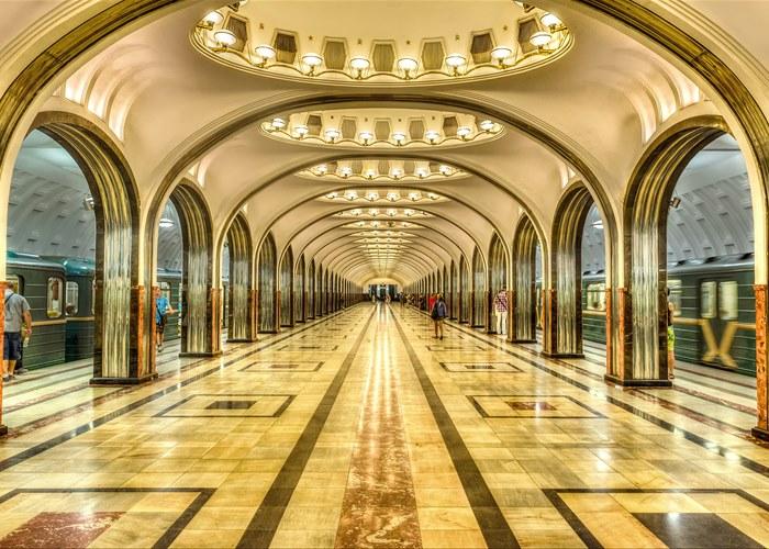 Туризм по Москве 5