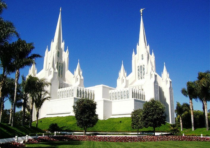 Temple of Mormon San Diego and other American sights 4