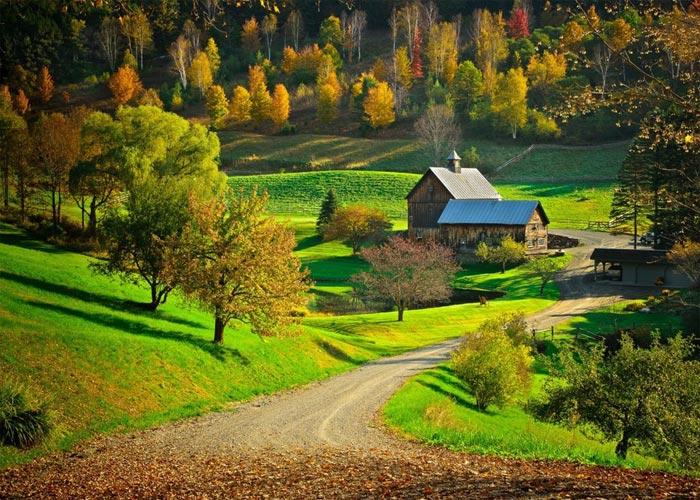 Куда совершить путешествие осенью 1