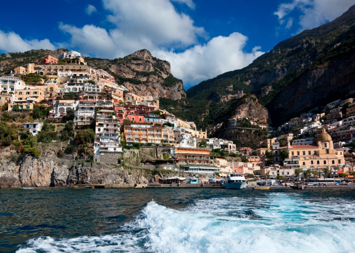 Путешествие в Италию Позитано 5