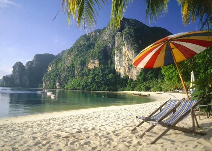 Путешествие по миру пляжный отдых 4