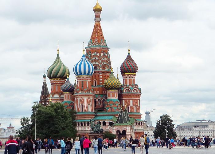 Путешествие по России Москва 2