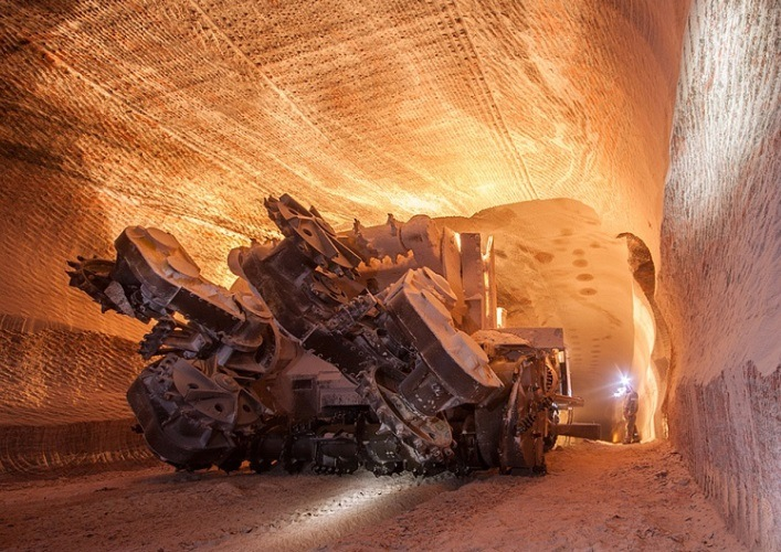 A special peace in the mines of the Perm region 3