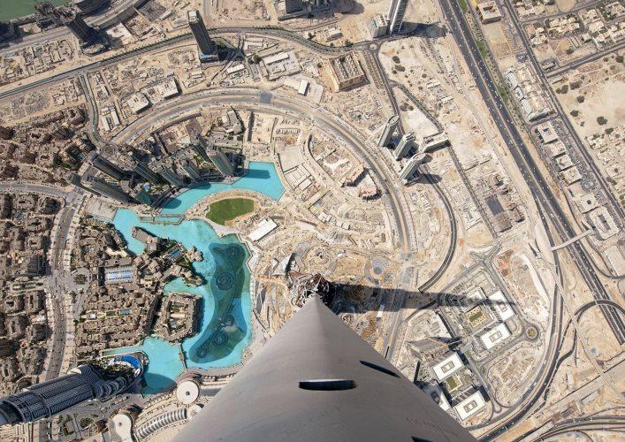 Burj Khalifa skyscraper 2