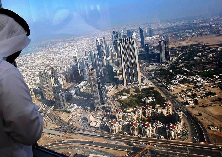 Burj Khalifa skyscraper 3