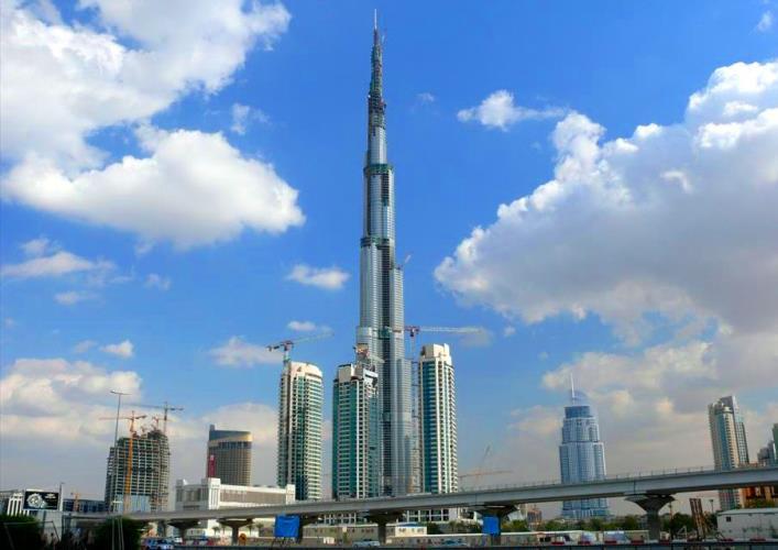 Burj Khalifa skyscraper 4