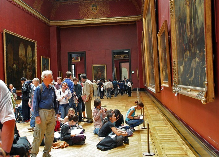 Educational excursions of the Louvre for children 4