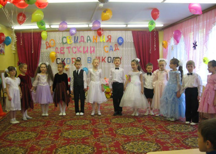Features of the organization of childrens graduation 2