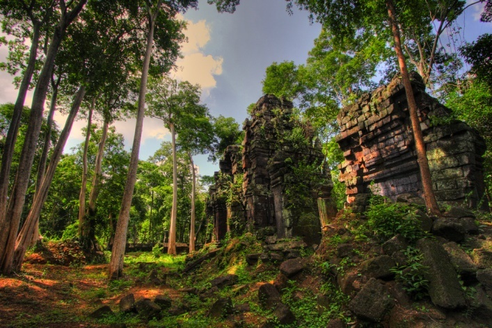 Interesting places in Asia or the capital of the Khmer Empire 2