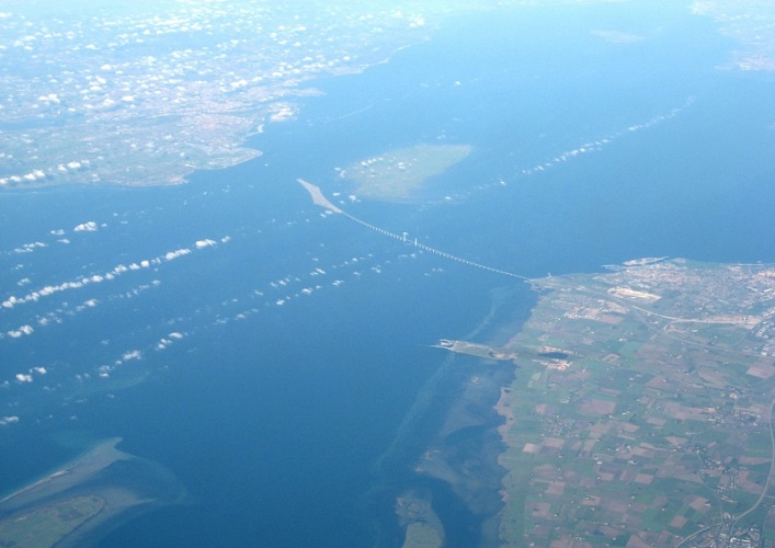Interesting places in Europe the Øresund Bridge 3