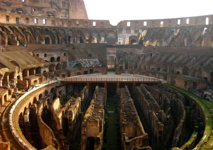Journey Through Italy The Colosseum 4