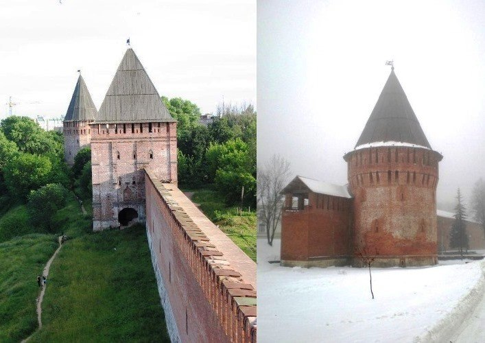 The Smolensk fortress wall 4