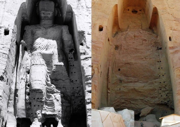 The most interesting places in Asia the Buddhas of Bamiyan 2