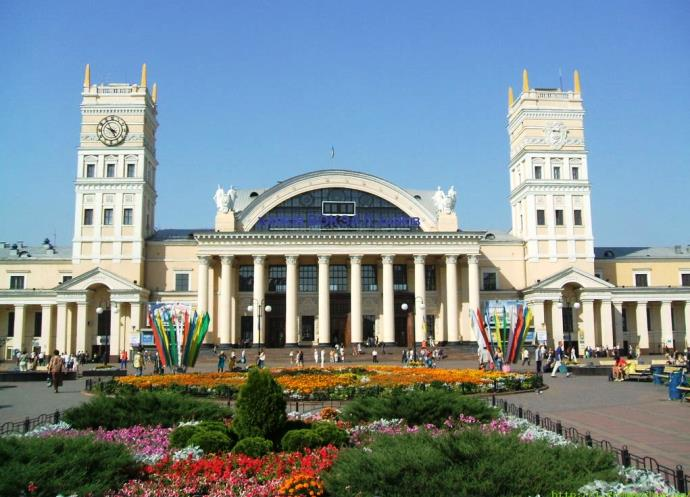 Tourism and rest in Europe visit the second capital of Ukraine Kharkiv 2