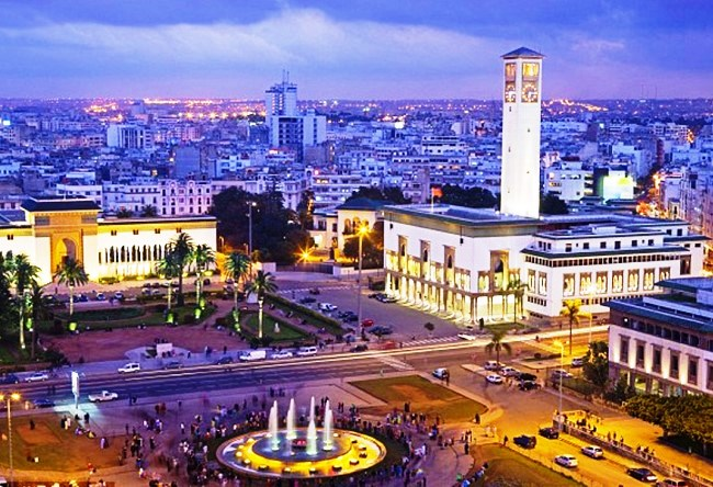 The economic and cultural capital of Morocco Casablanca 5