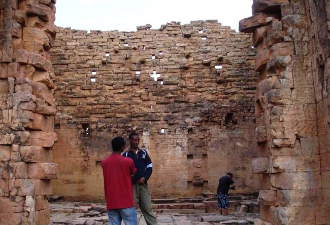 Echo Temple the oldest building of Ethiopia 2
