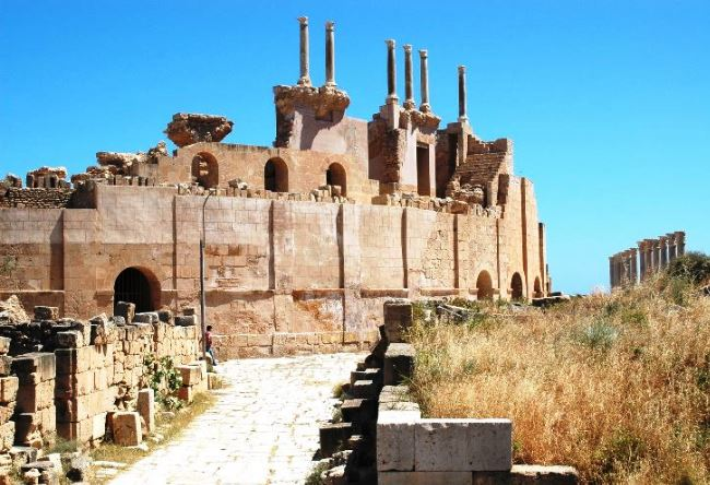 Leptis Magna an abandoned ancient city 2