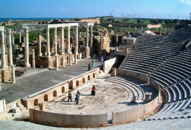 Leptis Magna an abandoned ancient city 3