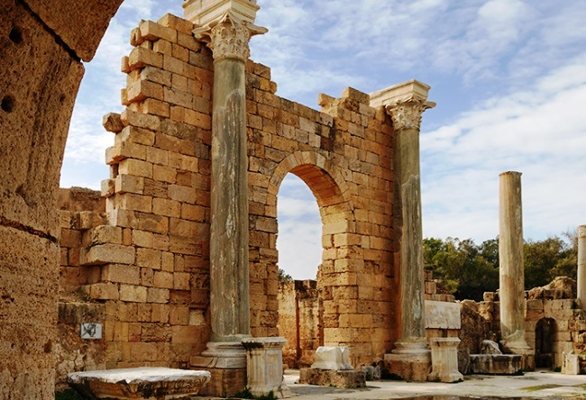 Leptis Magna an abandoned ancient city 4