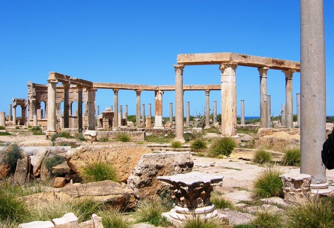 Leptis Magna an abandoned ancient city 5