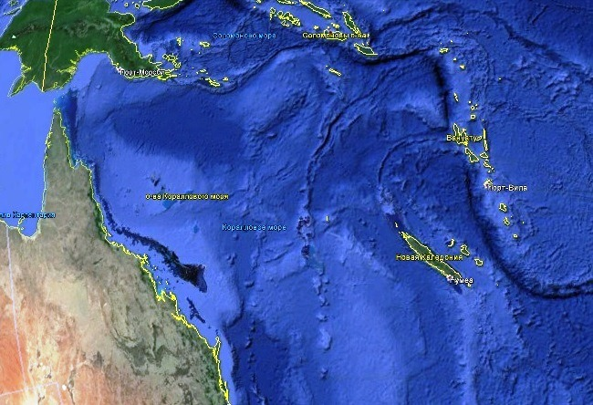 New Caledonia Heart in Voh 2
