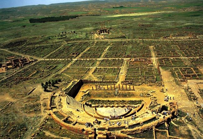 Roman city in North Africa Timgad 5