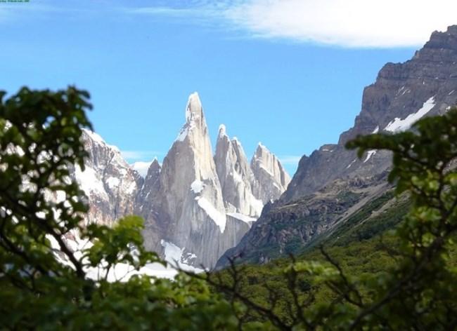 Гора Серро Торе в Южной Патагонии