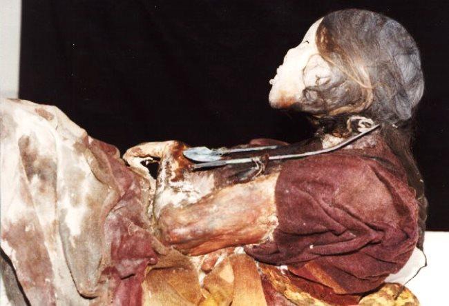 Мумия Хуаниты или леди Ампато 3