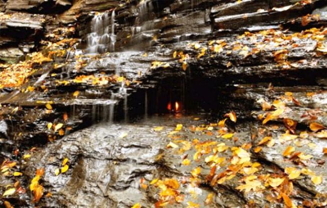 Водопад вечного огня в Буффало 4