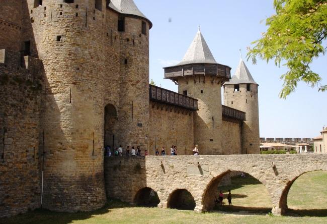 Крепость Каркассон 3
