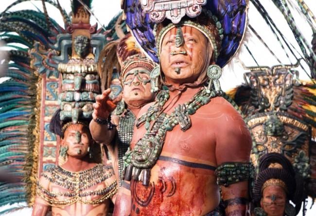 Индейское племя майя