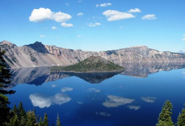 Штат Орегон, озеро Крейтер