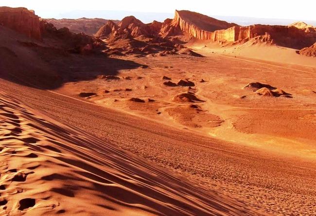Самая сухая пустыня на планете  Атакама 5 1495.ам