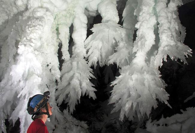 Самая длинная в США пещера Лечугия 4