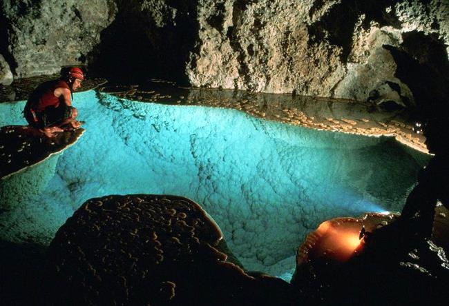 Самая длинная в США пещера Лечугия 5