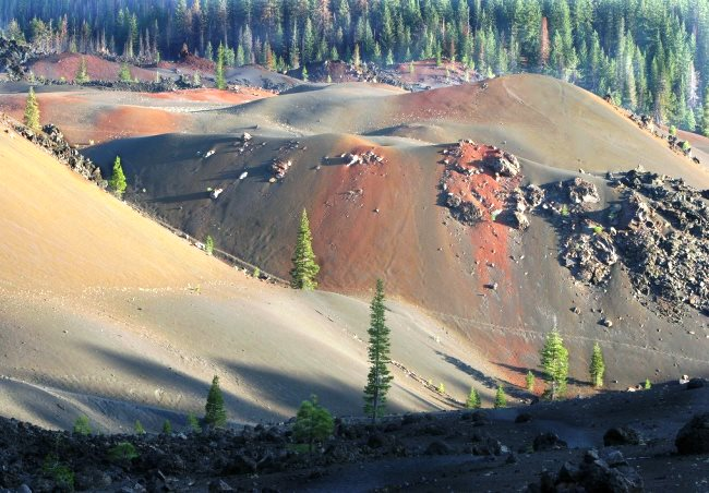 Вулканы, Национальный парк Лассен-Волканик