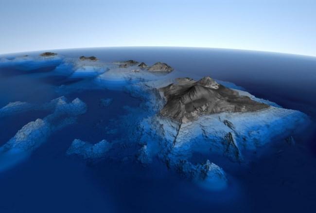 Высочайший вулкан на Гавайских островах - Мауна-Кеа