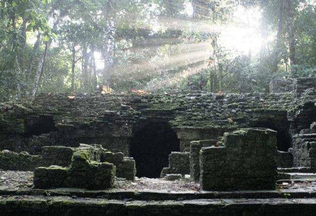 Наследие майя город Паленке или Змеиный Город из Камня