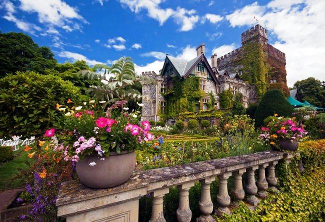 Ванкувер, замок в Хэтли