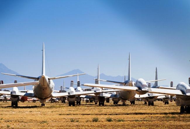 Кладбище самолетов в Тусон 2