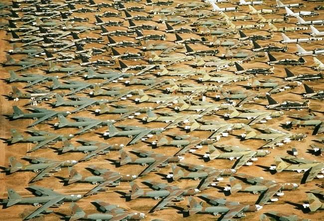 Кладбище самолетов в Тусон 5