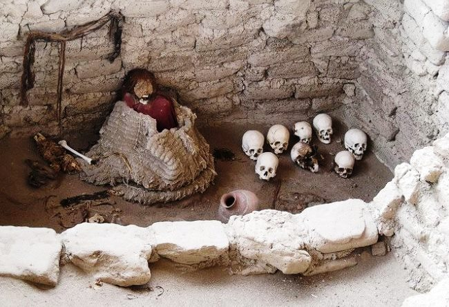 Город скелетов или некрополь Чаучилья 3