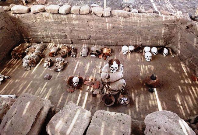 Город скелетов или некрополь Чаучилья 4
