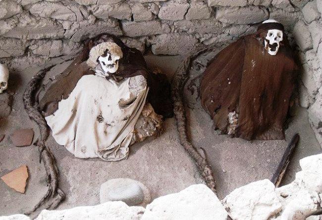 Город скелетов или некрополь Чаучилья 5