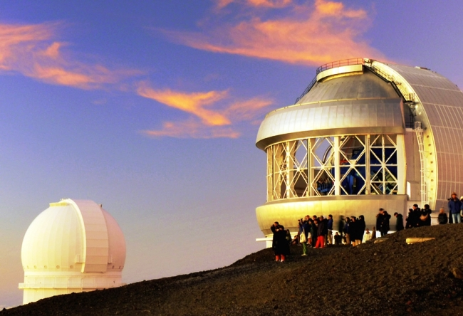 Обсерватория на склоне Мауна-Кеа 2