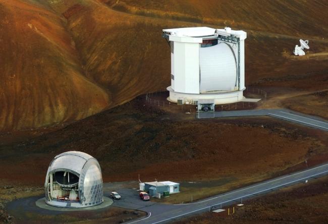 Обсерватория на склоне Мауна-Кеа 3