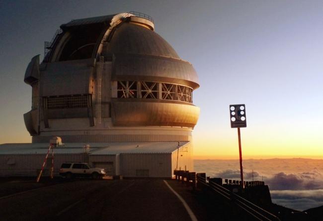 Обсерватория на склоне Мауна-Кеа 5