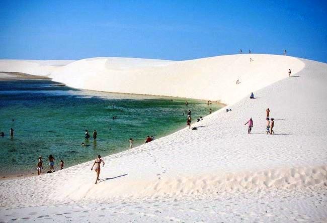 Водяная пустыня Ленсойс Мараньенсес 4