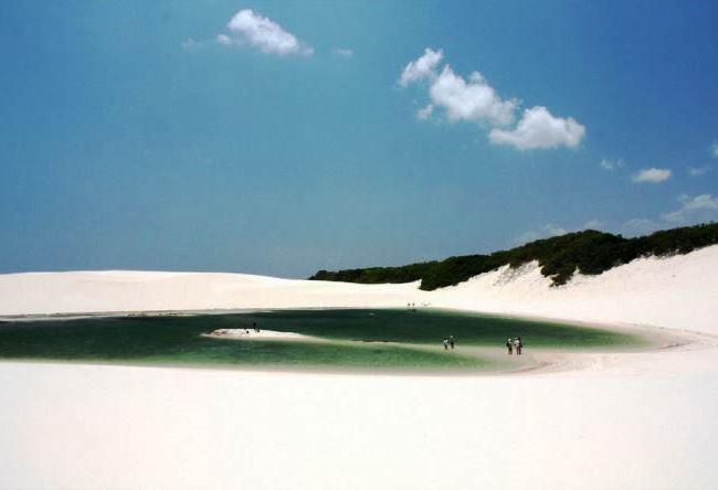 Водяная пустыня Ленсойс Мараньенсес 5