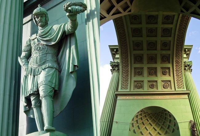 Нарвские ворота в Санкт-Петербурге 3
